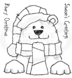 Woodware - Beary Christmas - Clear Magic Stamp Set - FRS064